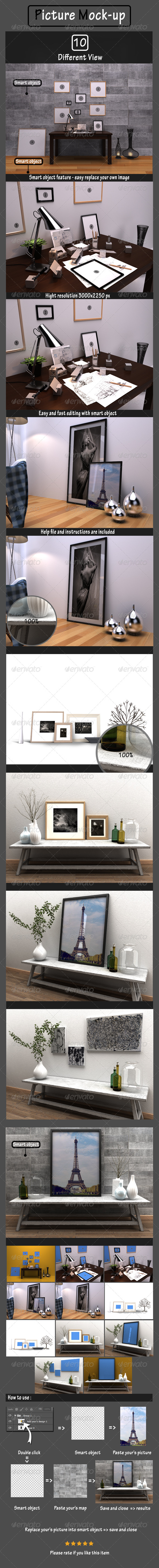Picture Mockup - Posters Print