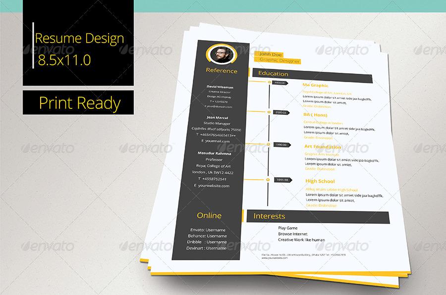 clean resume by masudur 74