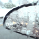 Snowy Road - 12 - Wet Side Window, Mirror & Traffic - VideoHive Item for Sale