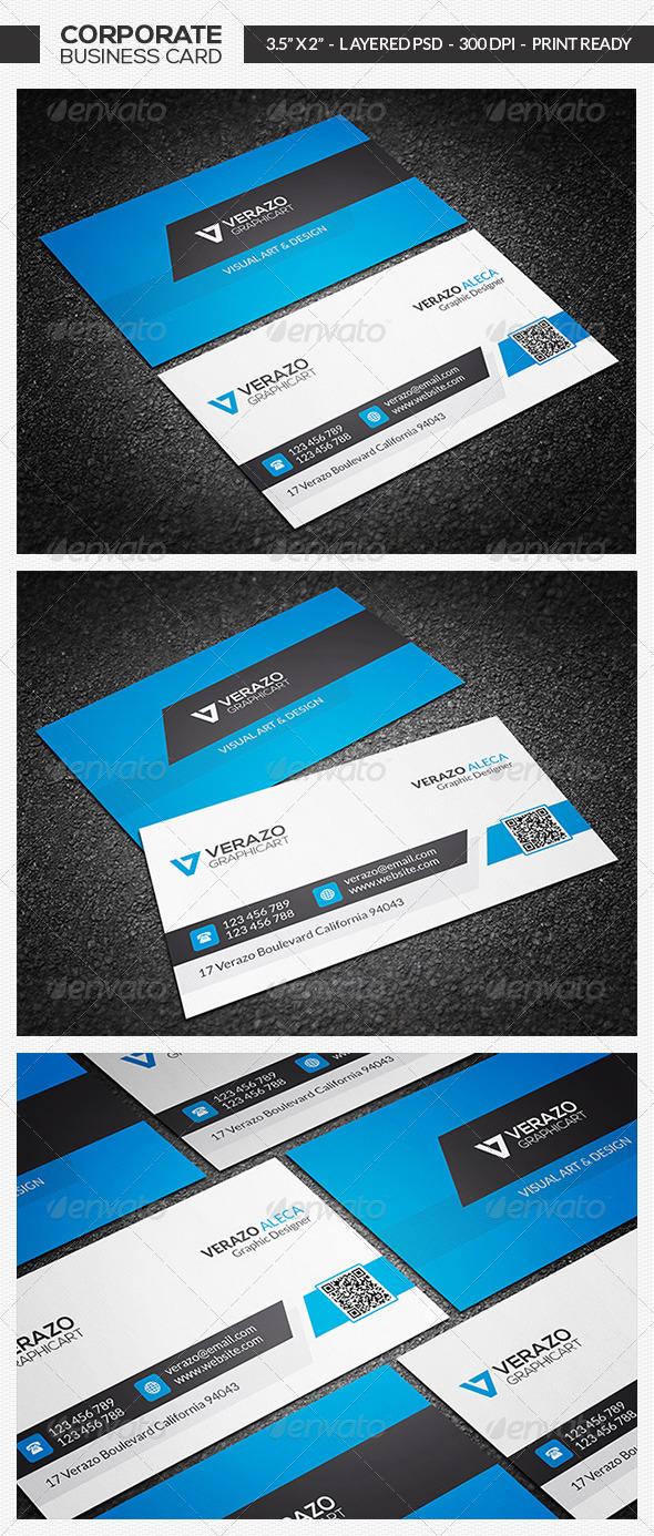 Creative Corporate Business Card 08 - Corporate Business Cards