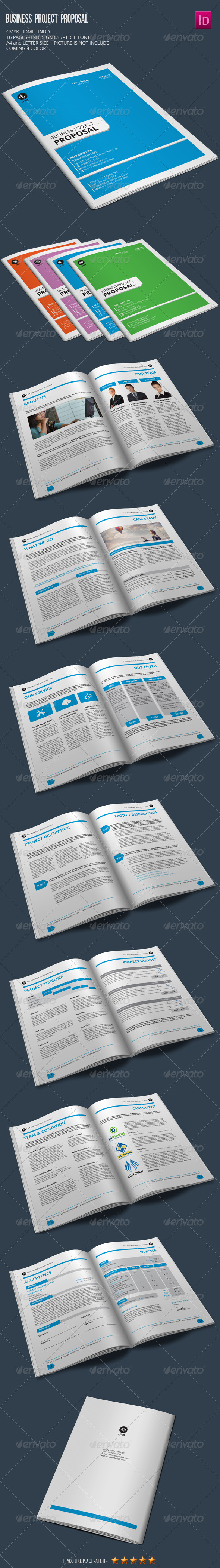 Business Project Proposal - Proposals & Invoices Stationery
