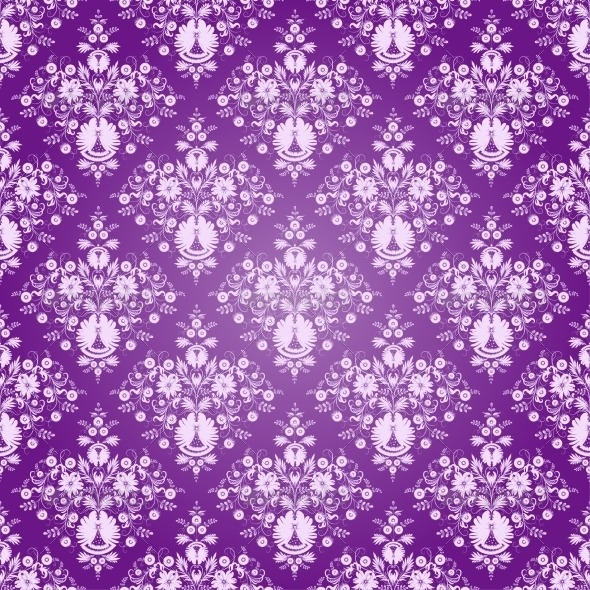 Seamless Flowers - Backgrounds Decorative