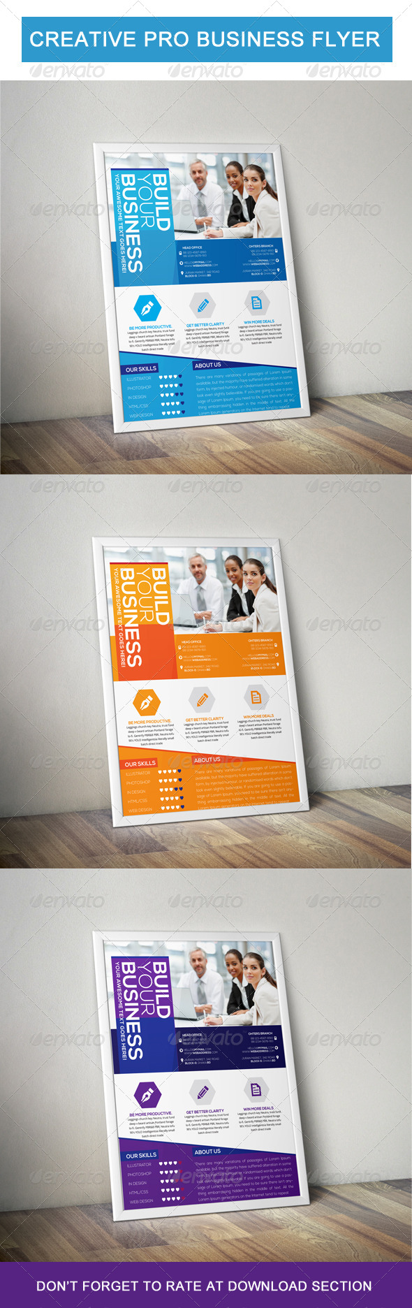 Creative pro business flyer - Corporate Flyers