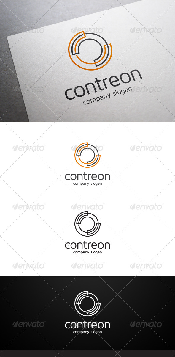 Contreon Logo - Abstract Logo Templates