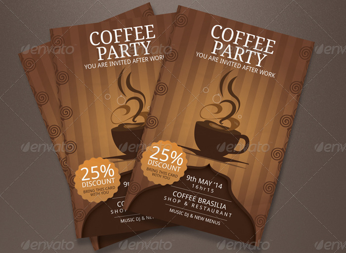 coffee party invitations by blogankids