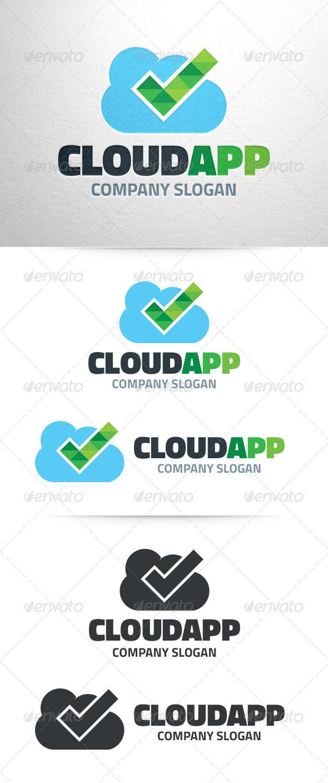 Cloud App Logo Template - Symbols Logo Templates