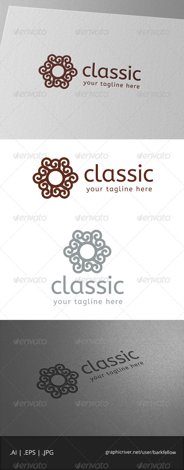Classic Carving Logo - Abstract Logo Templates