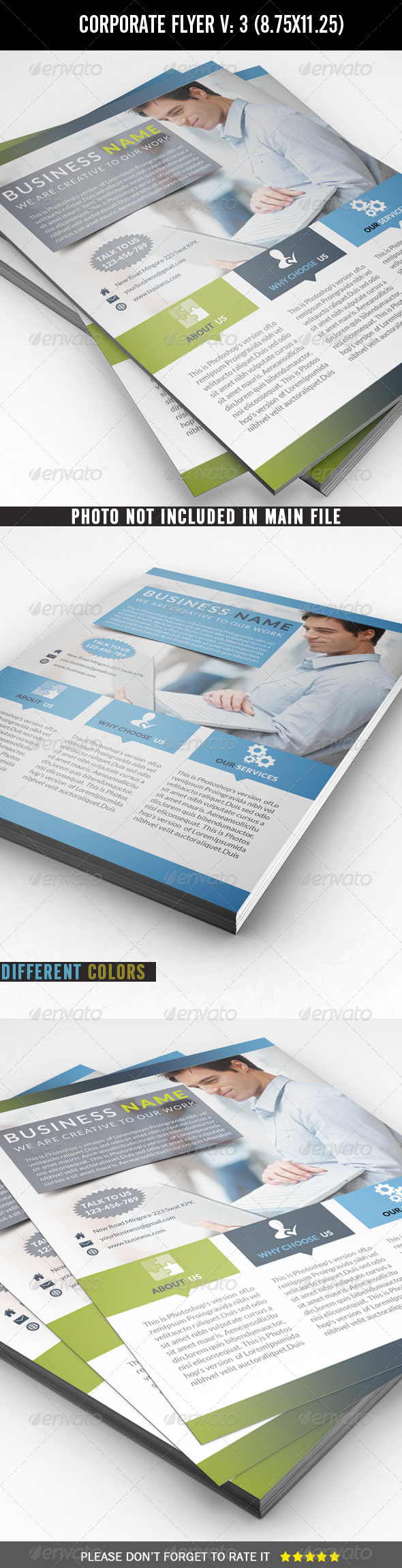 Corporate / Business Flyer - Corporate Flyers