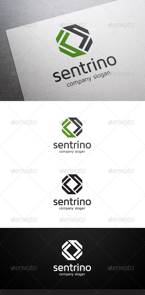 Sentrino Logo - Abstract Logo Templates
