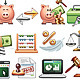 Finance, Business and Savings  - GraphicRiver Item for Sale