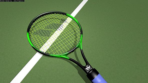 Wish Tennis Racket - 3DOcean Item for Sale