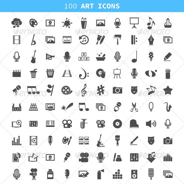 Art icon5 - Miscellaneous Vectors