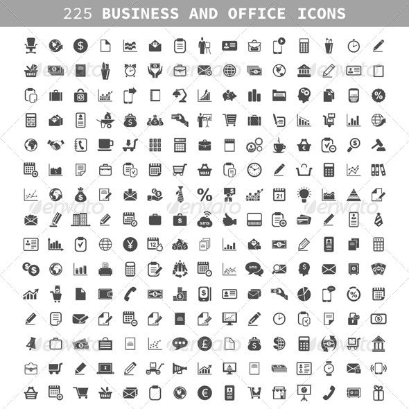 Business an Icon - Business Conceptual