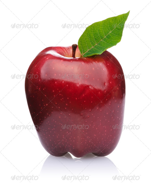 Red Apple - Stock Photo - Images