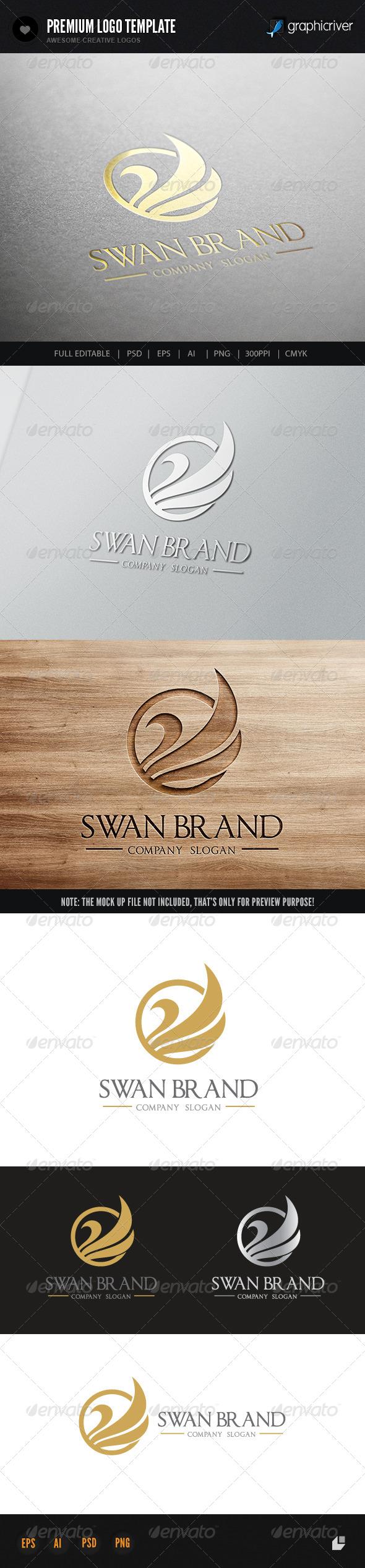 Swan Brand - Crests Logo Templates