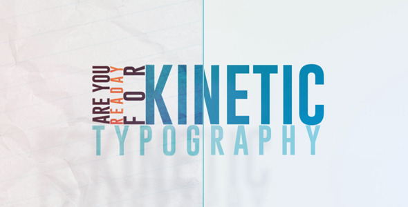 Kinetic Typography Pack by dearts | VideoHive