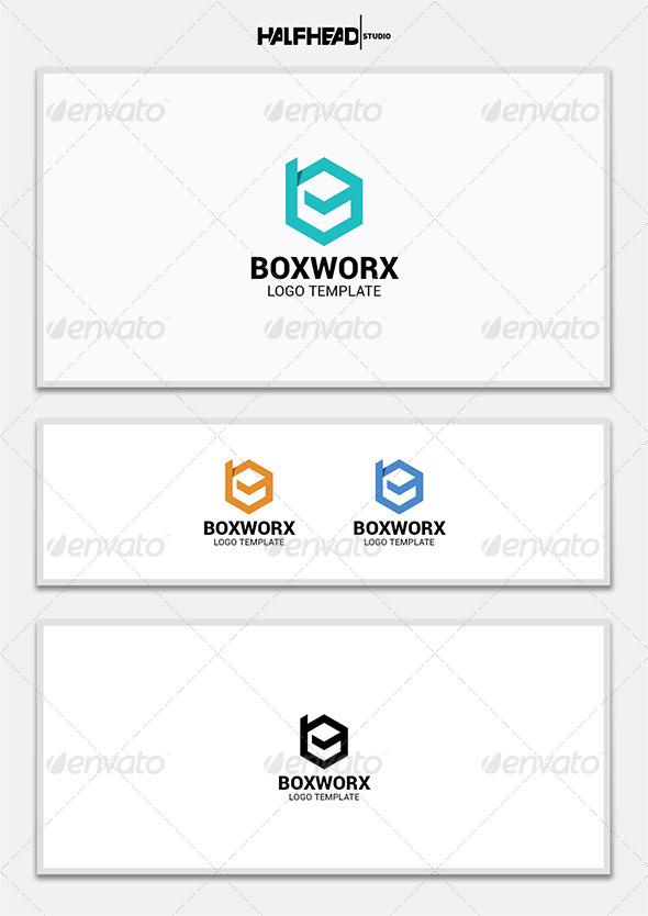 Boxworx Logo Template - Letters Logo Templates