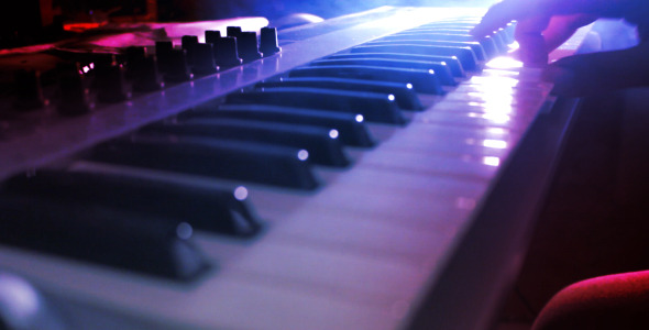 Playing Piano Keyboard by bsaridede | VideoHive