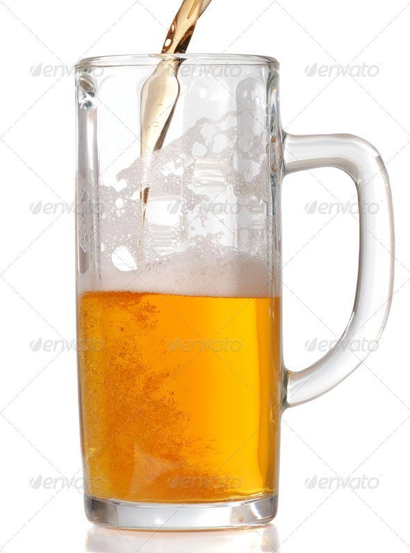 Beer mug - Stock Photo - Images