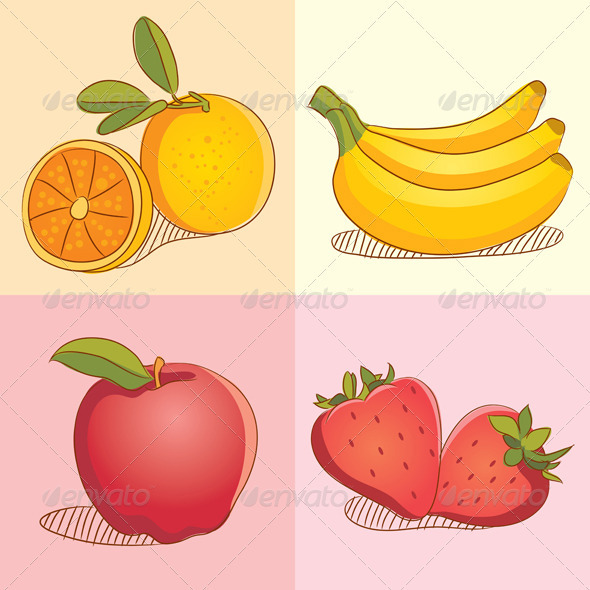 Fruit Collections - Organic Objects Objects