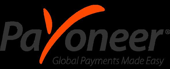 Payoneer logo w tagline 600x218