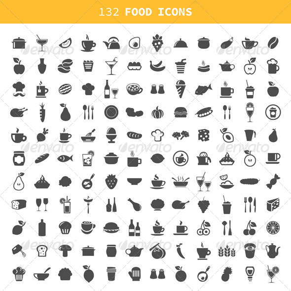 Food Icon - Food Objects