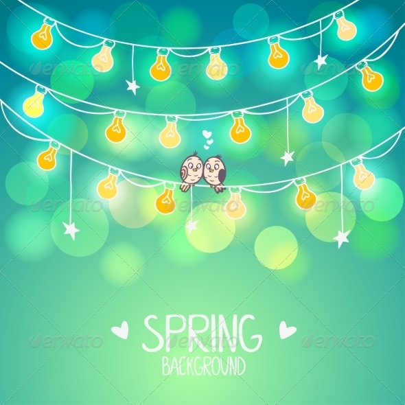 Bulb Background - Miscellaneous Conceptual