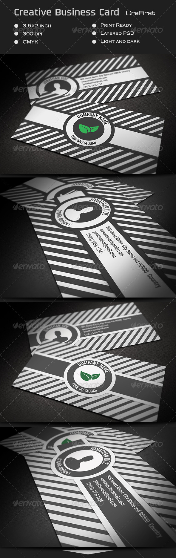 Creative Business Card CreFirst - Creative Business Cards