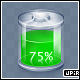 Green battery ICON - empty/full - layered .psd - GraphicRiver Item for Sale