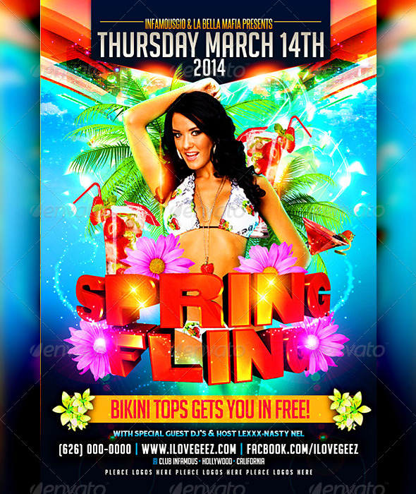 Spring Breeak 4 - Clubs & Parties Events