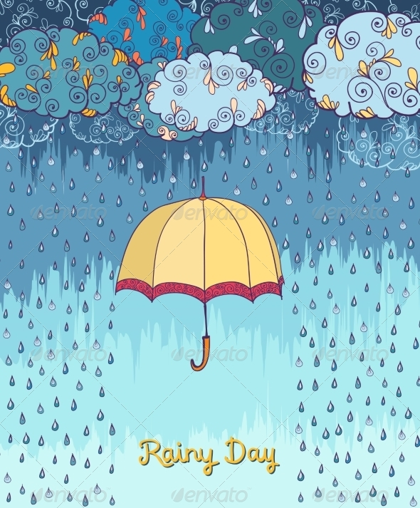Rainy Day - Backgrounds Decorative