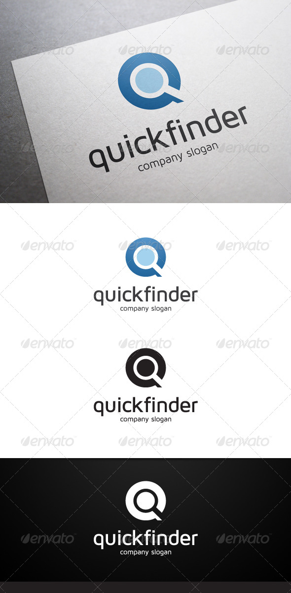 Quick Finder Logo - Objects Logo Templates