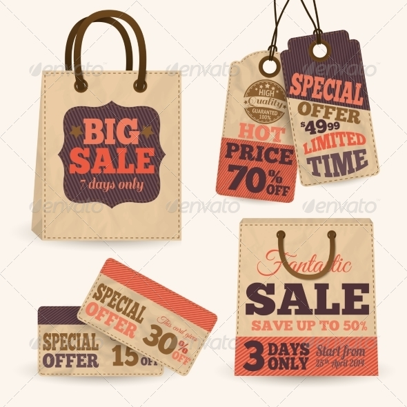 Price Tags - Retail Commercial / Shopping