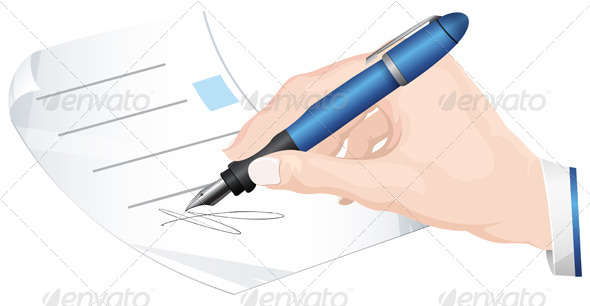 Sign Document - Concepts Business