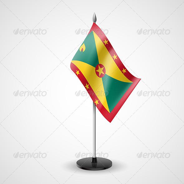 Table Flag of Grenada - Miscellaneous Vectors