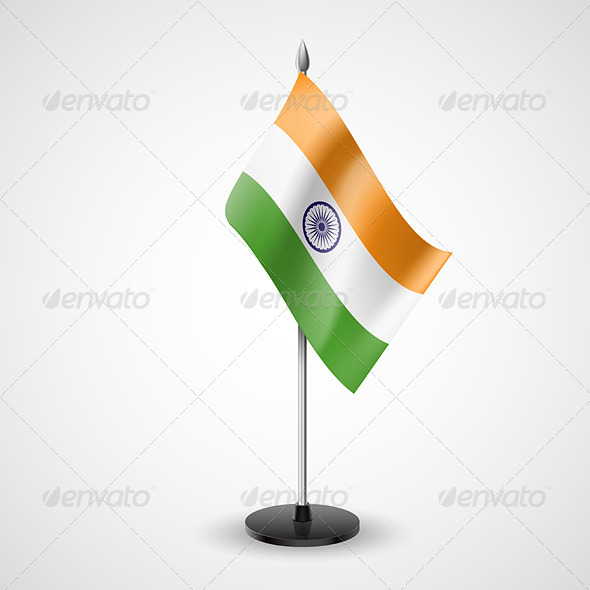 Table Flag of India - Miscellaneous Vectors