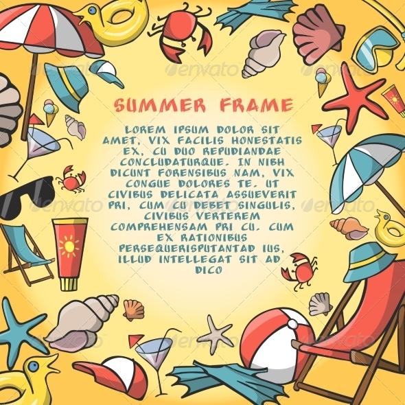 Holiday Frame - Borders Decorative