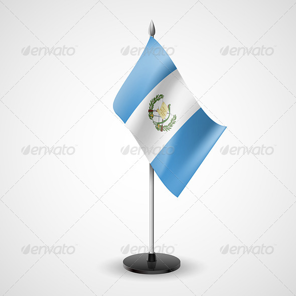 Table Flag of Guatemala - Miscellaneous Vectors