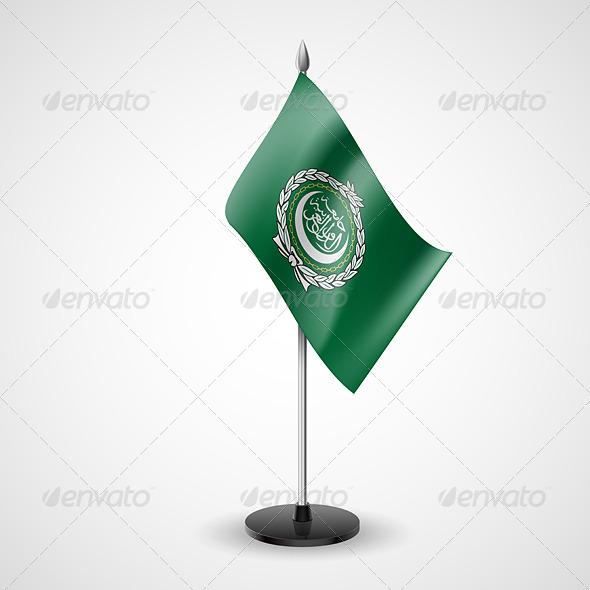 Table Flag of Arab League - Miscellaneous Vectors