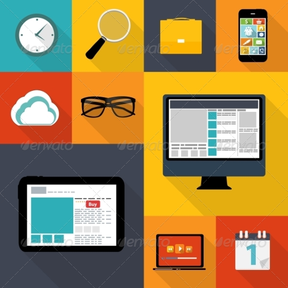 Web Icons - Web Technology