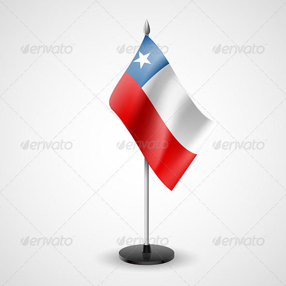 Table Flag of Chile - Miscellaneous Vectors