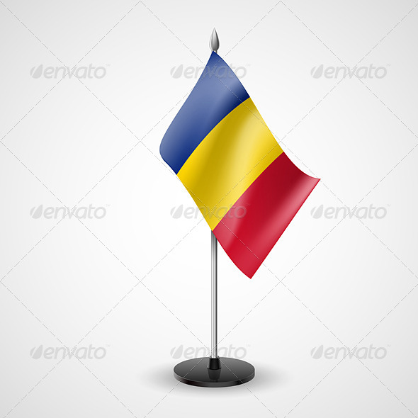 Table Flag of Romania - Miscellaneous Vectors