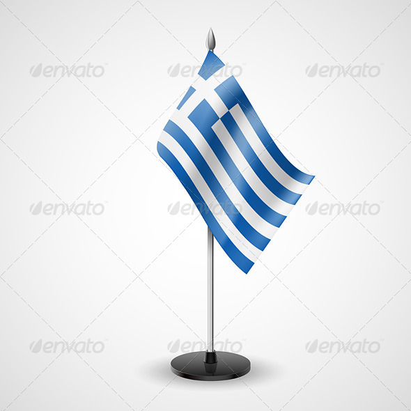Table Flag of Greece - Miscellaneous Vectors