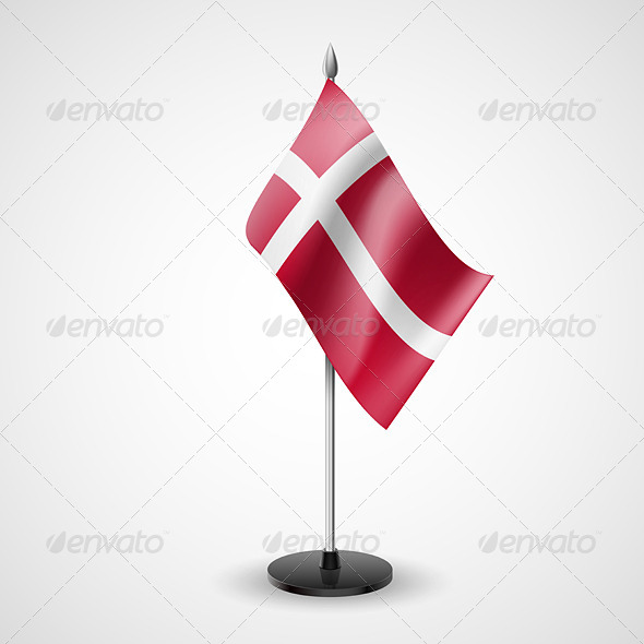 Table Flag of Denmark - Miscellaneous Vectors