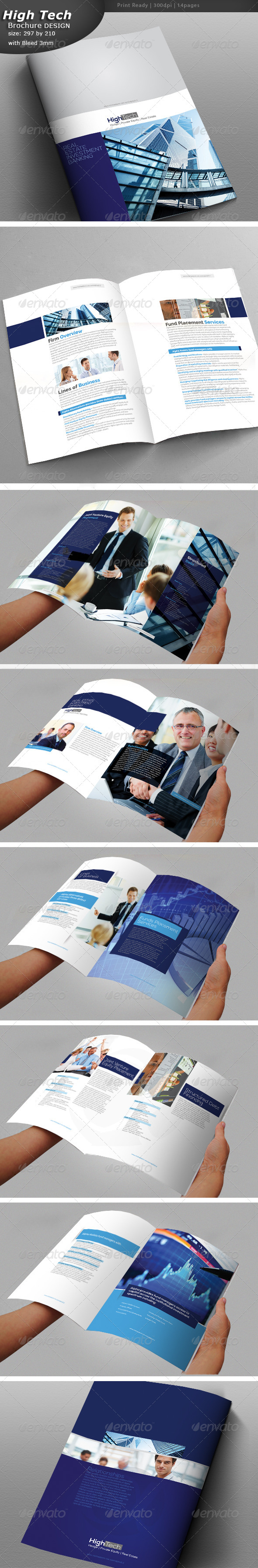 Corporate Brochure Design  - Brochures Print Templates