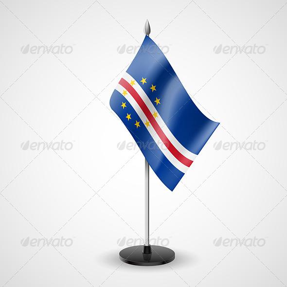 Table Flag of Cape Verde - Miscellaneous Vectors