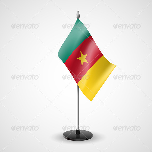 Table Flag of Cameroon - Miscellaneous Vectors