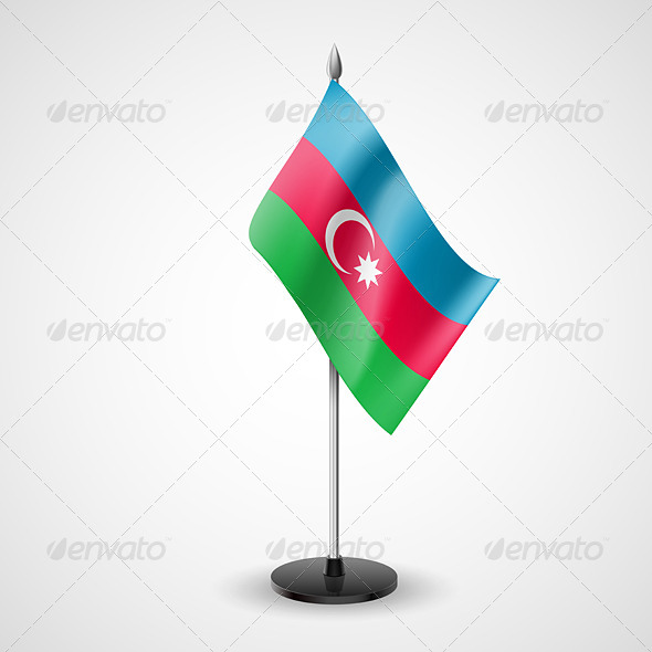 Table Flag of Azerbaijan - Miscellaneous Vectors