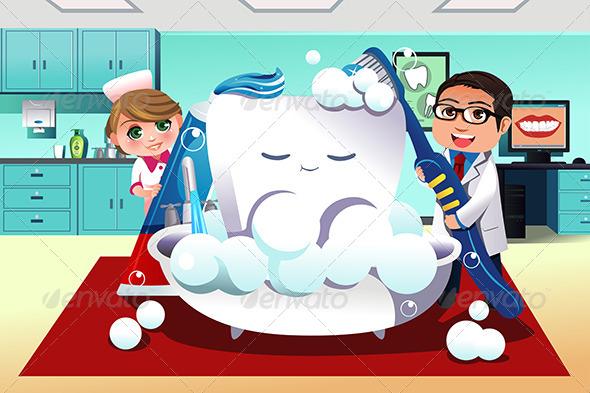 Concept of Dental Hygiene - Health/Medicine Conceptual