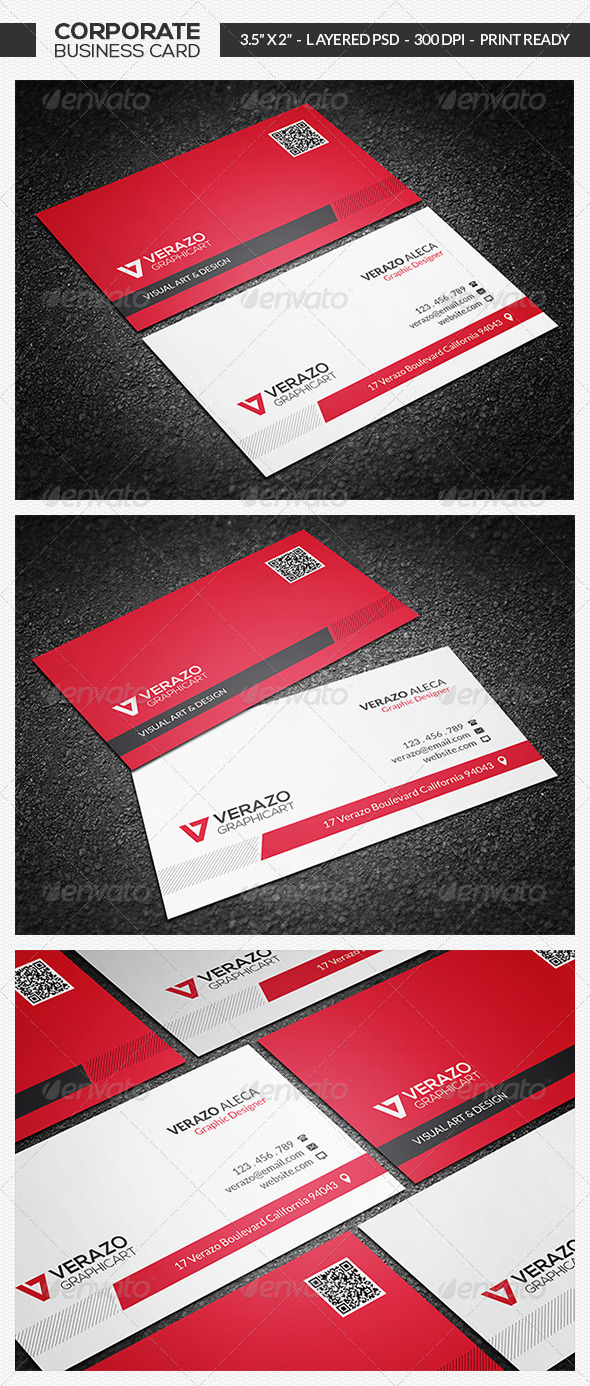 Modern Business Card 09 - Corporate Business Cards